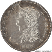 1832 Capped Bust Half Dollar Overton 111 Small Letters Pcgs Au-55 Ww793