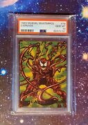 1993 Marvel Masterpieces Carnage 19 - Psa 10 Pop 5 - 1st Mm Appearance Rc