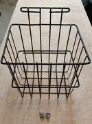 Ez Go Txt Golf Cart Black Wire Side Sweater Basket 1994-up.used With Hardware.