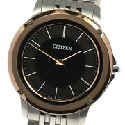 Citizen Eco Drive One Ar5055-58e/8826-t025358 Solar Powered Boyand039s Watch_632684