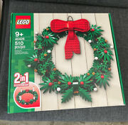 Lego Christmas Wreath 2-in-1 Advent Candles 40426 Decor New Sealed Sold Out
