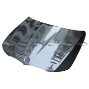 Carbon Fiber Fit For Bmw E90 Oe Style Bonnet Hood Engine Cover Bodykits 09-11