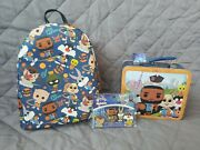 Space Jam 2 A New Legacy Funko Pop Mini Backpack, Pin Set, And Lunch Box