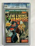 Adventure Into Fear 20 Cgc 9.6 White Pages Morbius The Living Vampire Begins