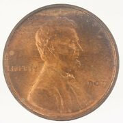 1909-p Vdb Lincoln Wheat Cent Uncirculated Jo/1194