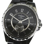 J12 H3836 365 Small Seconds Black Ceramic Automatic Menand039s Watch_630064