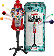 Gumball Machine 15 Inch Candy Dispenser With Stand For 0.62 Inch Bubble Gum Ball