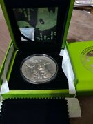 2017 35th Anniversary Of The Panda - 8 Oz Silver Coin - Only 888 Made By Fiji