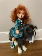 """Tolls Tots Disney Princess Merida And Horse Toddler 14.5"""" Jointed Posable Doll"""