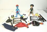2010 Monster High Holt Hyde And Jackson Jekyll Doll And Accessories