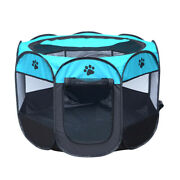 Pet Cage Portable Pet Tent Folding Dog House Cage Cat Tent Playpen Puppy Kennel