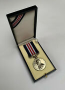 Presentation Case For British Wwi Wwii Mm Military Medal For Gallantry No Medal.