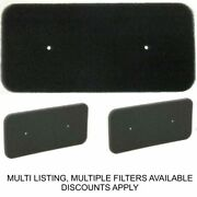 Condenser Tumble Dryer Sponge Filter Genuine Fits Hoover Candy Csh Gvs 40006731