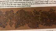 New Hibiscus Border 12x25 Stencil La Stencilworks Tropical Flower New Old Stock