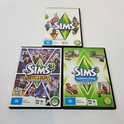 The Sims 3 Pc / Mac Game + Outdoor Living Stuff + Ambitions Expansion Packs