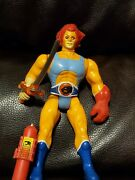 Thundercats Lion-o Red Hair Figure With Ring Claw Sword Ljn 1985