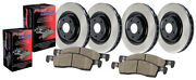 Disc Brake Upgrade Kit-rwd Front Rear Centric 906.35307 Fits 2003 Mercedes S430