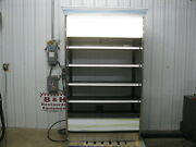 Barker 4and039 Open Air Refrigerated Multi Deck Grocery Dairy Display Case Cooler