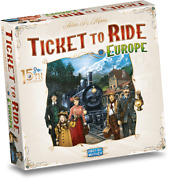 New And Sealed Ticket To Ride Europe Board Game 15th Anniversary Deluxe Edition