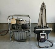Jaws Of Life Rescue Power Unit Spreader 5000psi Hydraulic Pump Gas Engine