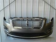 No Shipping Front Bumper Chrome Mesh Grille Without Fog Lamps Fits 19 Mkc 9523
