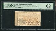 Nj-152 December 31, 1763 1s One Shilling New Jersey Colonial Note Pmg Unc-62