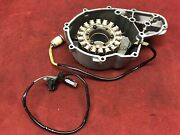 2004 Bombardier Ds 650 Stator With Cover And Pickup