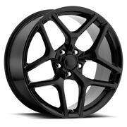 Fits 20 9 And 10 Camaro Z28 Gloss Black Nitto Tire Wheel Package 5th Gen 10 - 15