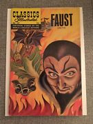 Classics Illustrated Faust Hrn 167 Printed In U.s.a. 1962 Silver Age Comic