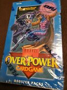 1995 Fleer Marvel Overpower Card Game Box Of 36 Packs Factory Sealed Ccg Rare