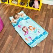 Everyday Kids Toddler Nap Mat With Removable Pillow -underwater Mermaids- Car...