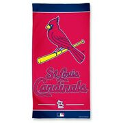 Brand New Mlb St. Louis Cardinals Full Size Beach And Home Decor Towel 30 X 60