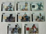 8 2004 04 Bowman Sterling First Year Otc Auto Jersey/bat Rc Cards Available Mt
