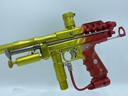 Pps Swiss Cheese Autococker Paintball Marker - 1/5 Tequila Sunrise Rare