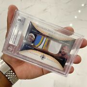 Lebron James Carmelo Anthony 2005-06 Ultimate Collection Dual Jersey Patch D 40