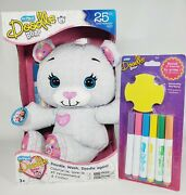 The Original Doodle Bear, 25th Anniversary Limited Edition + Marker/stencil Pack