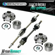 Front Cv Axle Wheel Hub Bearing Repair Kit For 1997-2001 Toyota Camry V6 W/a.t.