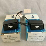 Nos New Ford Mustang Horn Button Switch Pair Left And Right For 1990-1993