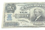 1908 10 Tombstone United States Silver Certificate Tough Fr 302 Vernon Treat