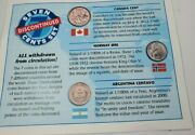 7 Coins From 7 Countries Obsolete Uncirculated - Littleton Coin