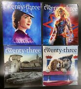 D23 Magazine Lot - Star Wars, Captain Marvel, Lady And The Tramp, Mary Poppins