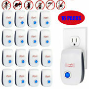 10x Electronic Ultrasonic Pest Reject Mosquito Cockroach Mouse Killer Repeller