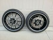 Genuine Harley Davidson 2016 Softail Breakout Wheels Front And Rear Oem