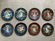 The Russian Seasons Collector Plates Set Of 8 - Bradex No. 60 B24 8.1 To 8.8