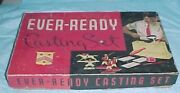 Empty Box Ever-ready Lead Toy Soldier Mold Kit 1950 - 64 10.25 X 16.25 X 2.5
