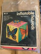 Very Rare Dan Dee Imports 1971 Butterfly Inflatable Home Decor Sealed In Package