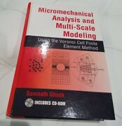 Micromechanical Analysis And Multi Scale Modeling With Cd By Ghosh 2011 New Hc