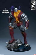 Marvel X-men Comics Colossus Premium Format Exclusive Statue By Sideshow - New