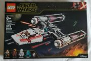 Lego 75249 Star Wars Resistance Y-wing Starfighter 578 Pieces New Minifigure