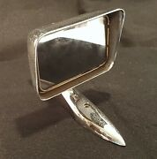 Vintage 1950and039s Ford Hot Rod 4086 Chrome Auto Car Rear View Fender Door Mirror